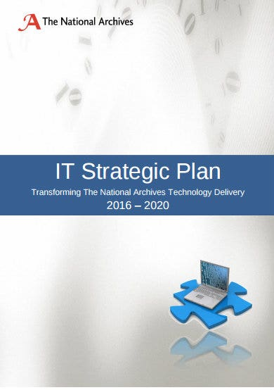 four year it strategic plan
