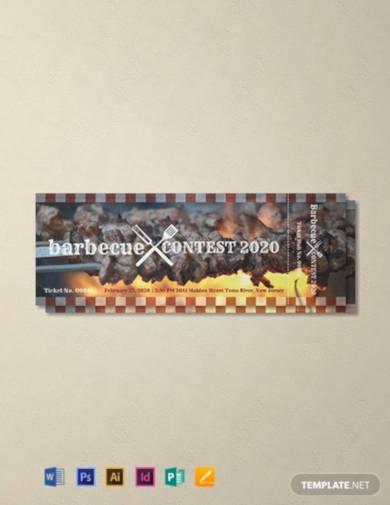 free bbq event ticket