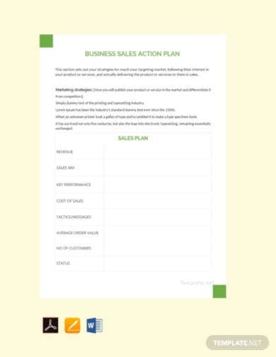 free-business-sales-action-plan
