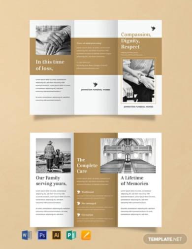 free funeral brochure