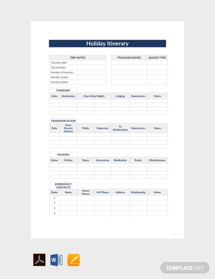 free holiday itinerary template 440x570 1