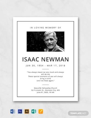 free-simple-funeral-program