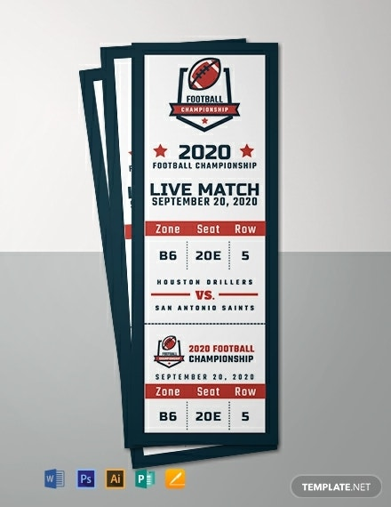 free sports event ticket template 440x570 11