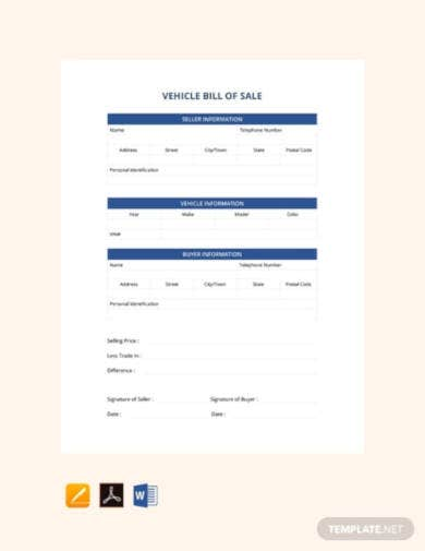 free-vehicle-bill-of-sale-template