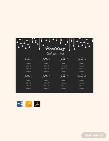 free wedding table seating chart template 440x570 1