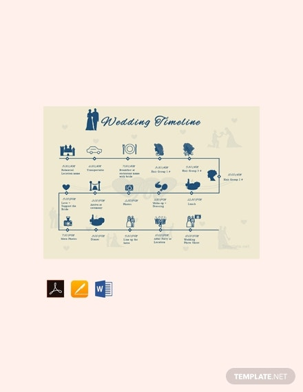 free wedding timeline template 440x570 1