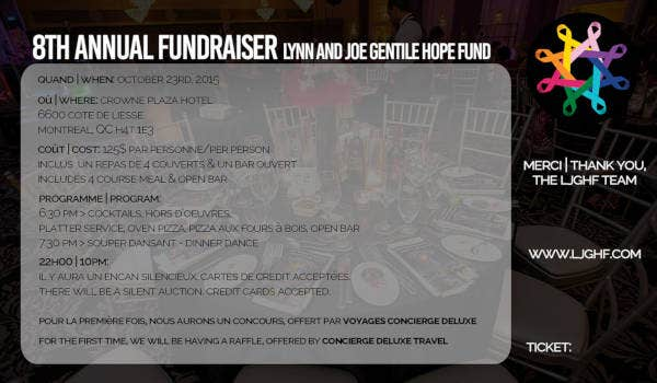 fundraiser ticket example