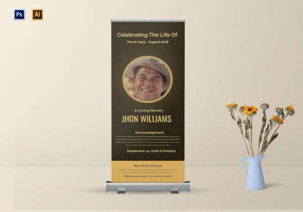 funeral-announcement-roll-up-banner