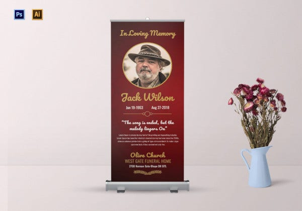 funeral-invitation-roll-up-banner