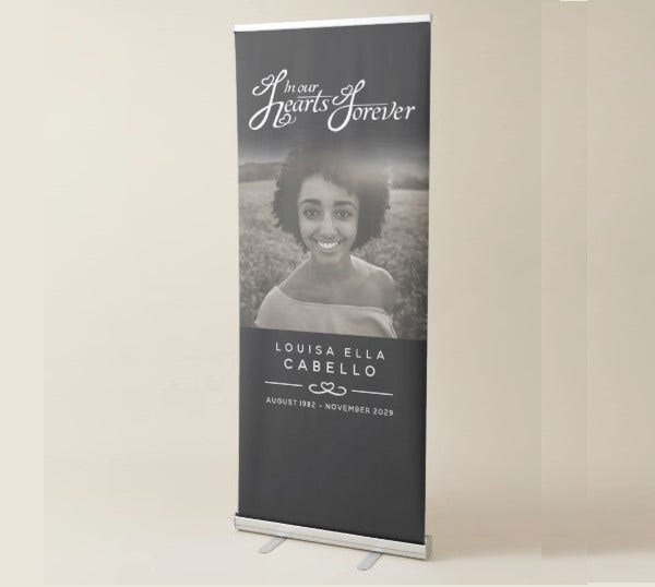 funeral-mono-banner-template