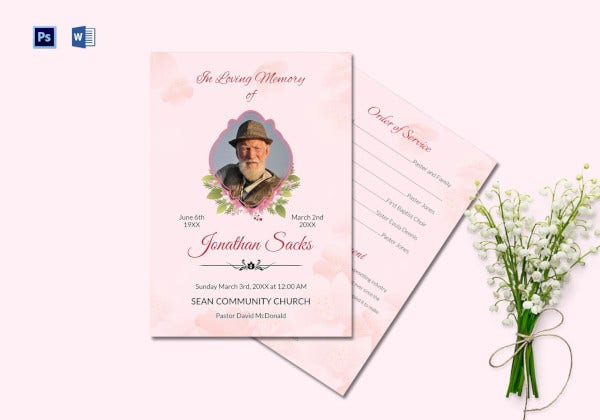 funeral-order-of-service-program-in-psd