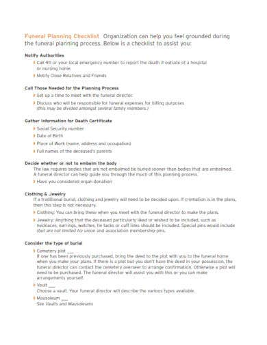 funeral-planning-checklist-template