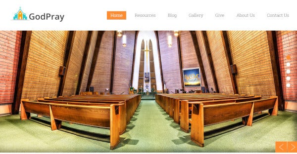 godpray cross browser compatiblewordpress theme