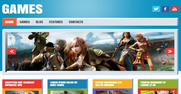 Games – Customize WordPress Theme