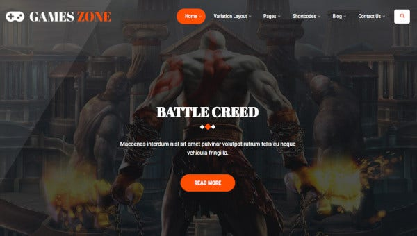 games-zone-live-composer-wordpress-theme