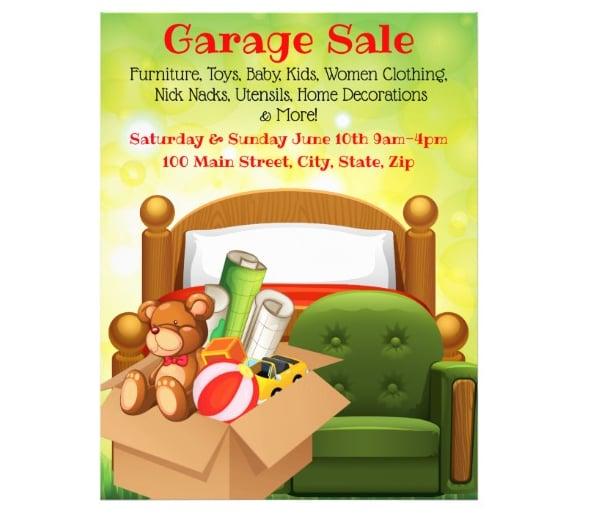 garage-sale-promotional-flyer