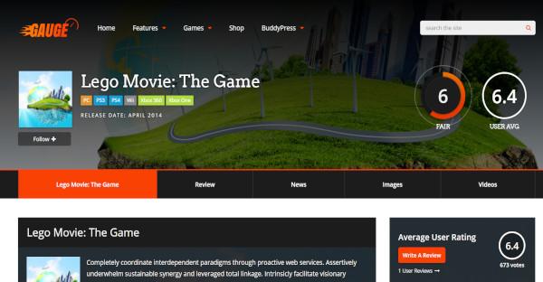 Gauge - BuddyPress Integration WordPress Theme