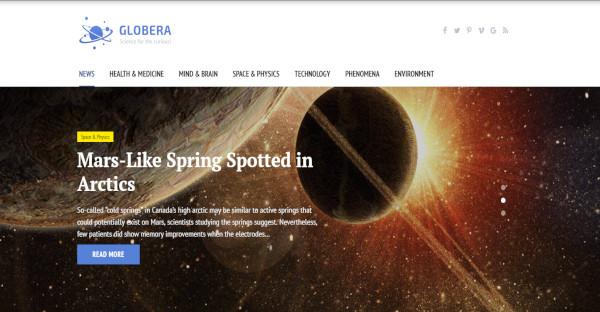 Globera – Customized WordPress Theme
