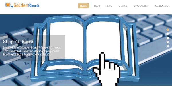 goldenebook – ajax cart system wordpress theme
