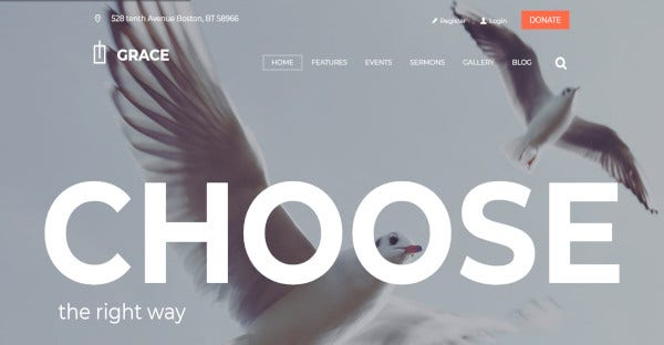 grace seo optimized wordpress theme