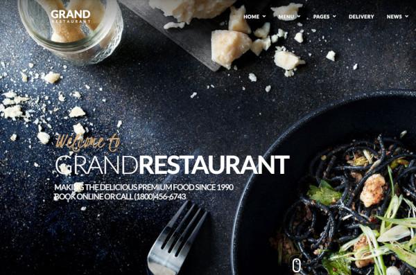 grand restaurant wpml ready wordpress theme