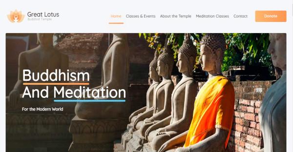 great lotus wpbakery page builder wordpress theme