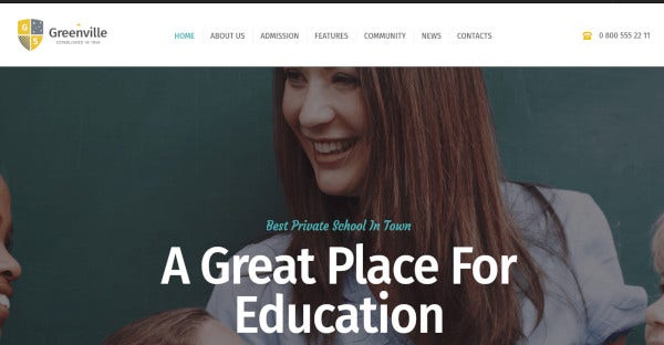 greenville retina display wordpress theme