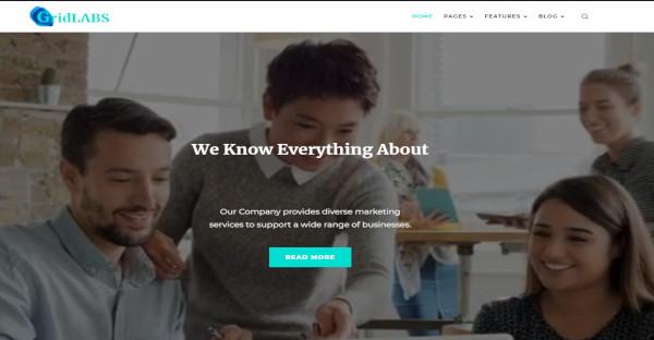 GridLabs – Elementor Page Builder WordPress Theme