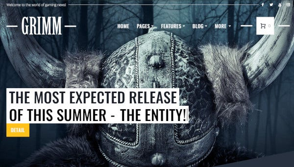 grimm-elementor-page-builder-wordpress-theme