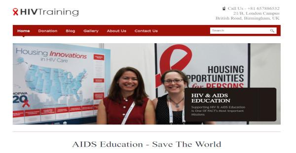 hiv training – css compatible wordpress theme