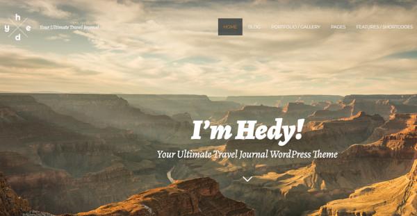 hedy 600 google fonts wordpress theme