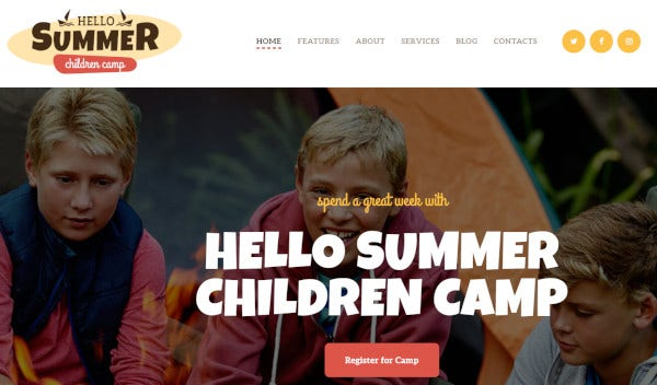 hello summer wpbakery page builder wordpress theme
