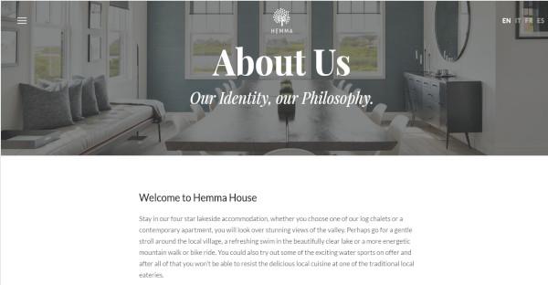 hemma well documented wordpress theme