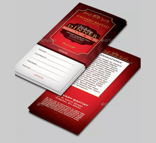 holiday-dinner-ticket-template