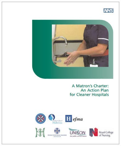 hospital cleaning action plan template