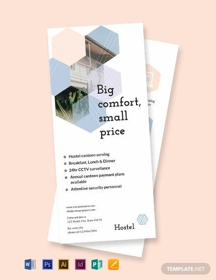 hostel dl card template 440x570 1