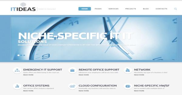 ITIDEAS - 500+ Google fonts WordPress Theme