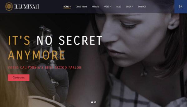 iluminati – live customizer wordpress theme