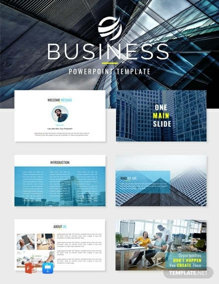 impressive business powerpoint presentation template