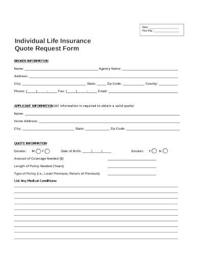 individual-life-insurance-quote-request-form
