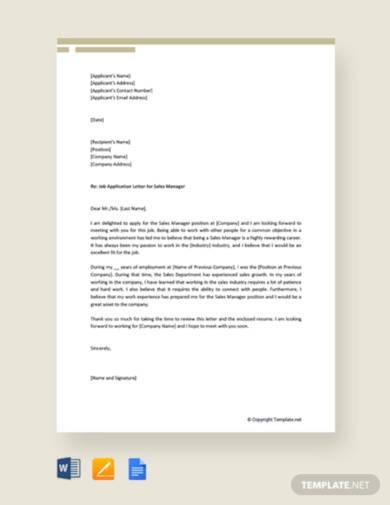 job-application-letter-for-sales-manager
