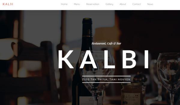 kalbi – responsive wordpress theme