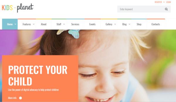 kids-planet-custom-widgets-wordpress-theme