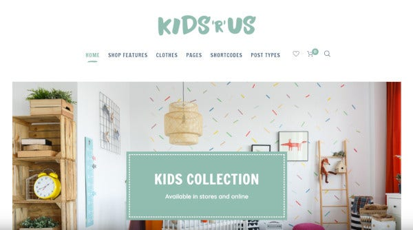 kids r us gutenberg compatible wordpress theme