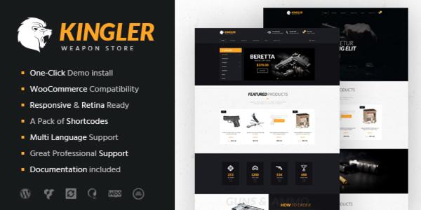 Kingler – Visual Composer WordPress Theme