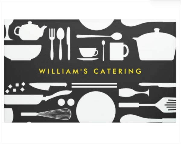 kitchen catering banner example