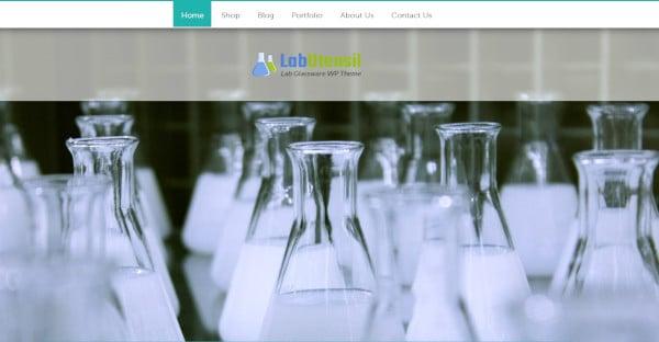 Lab Utensil - WooCommerce WordPress Theme