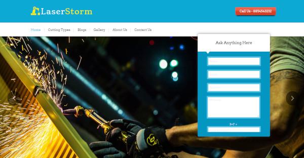 laserstorm – responsive wordpress theme