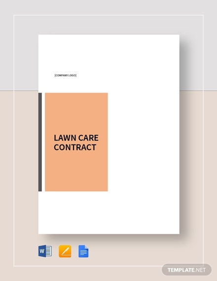 lawn care contract 2