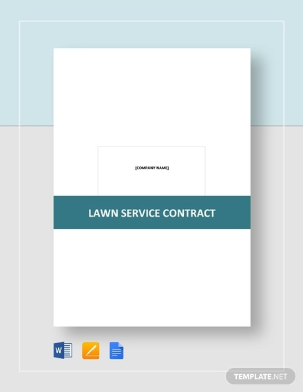 lawn service contract